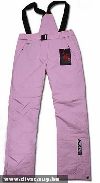 Rózsaszín kantáros téli nadrág