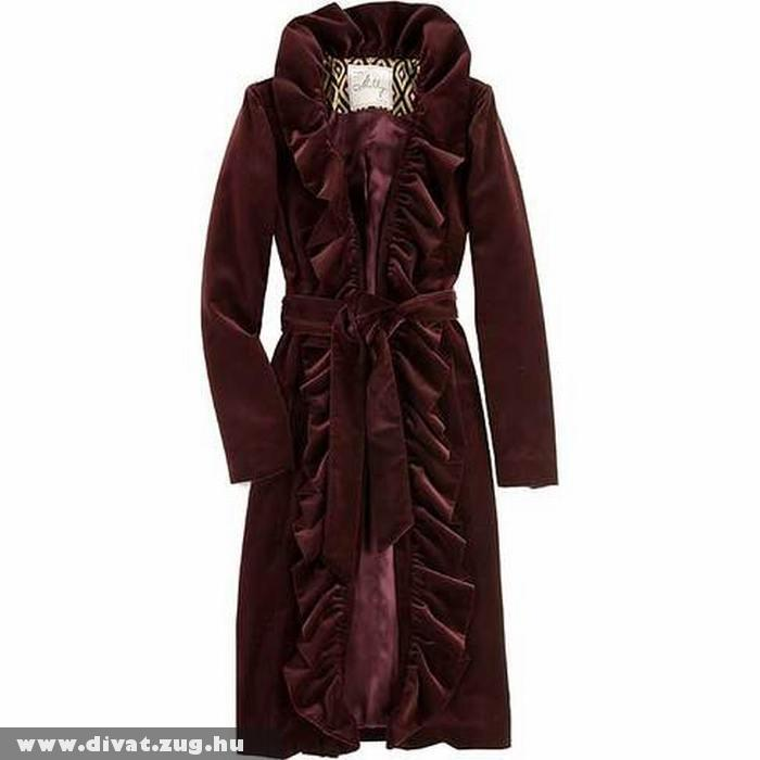 Elegáns nõi téli kabát