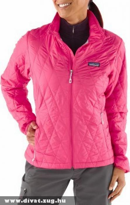 Sportos rózsaszín nõi kabát