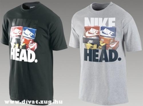 Nike fekete és szürke póló