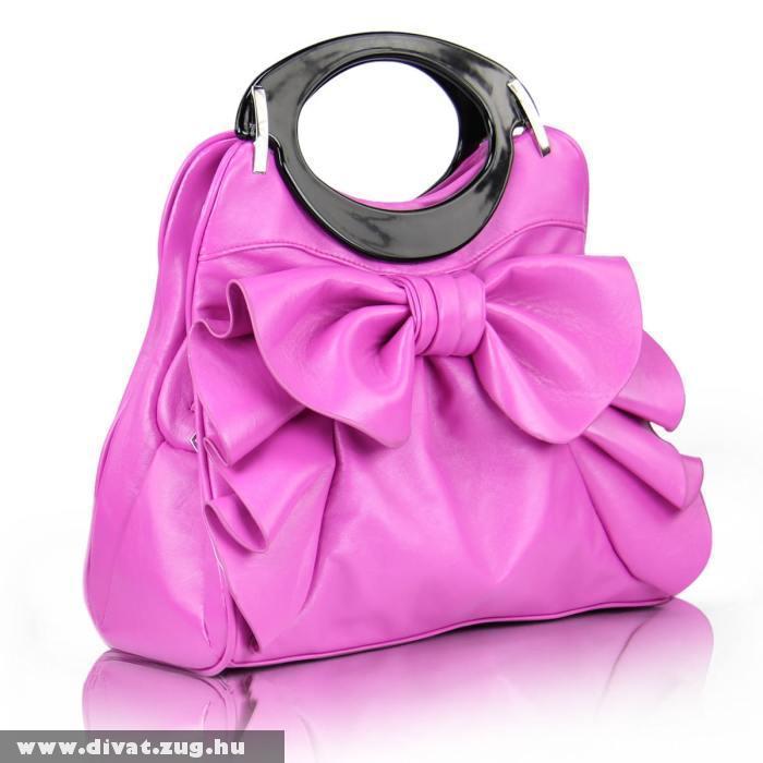 Pink elegáns táska
