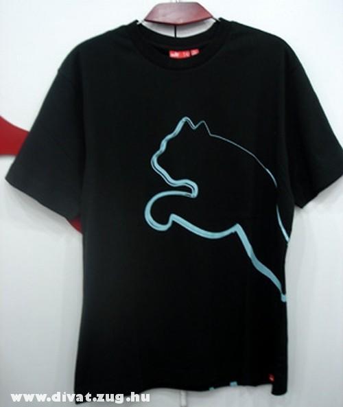 Kék-fekete Puma felsõ
