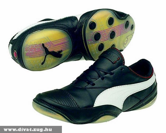 Fekete-fehér Puma cipõ