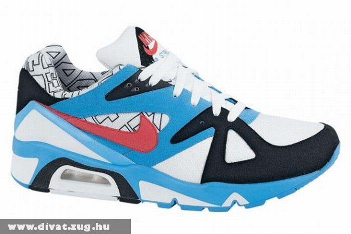 Kék-fehér-piros Nike cipõ