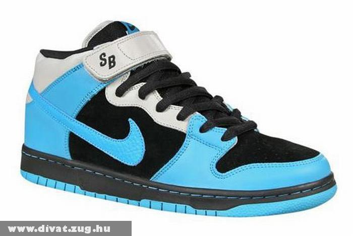 Kék-fekete Nike cipõ