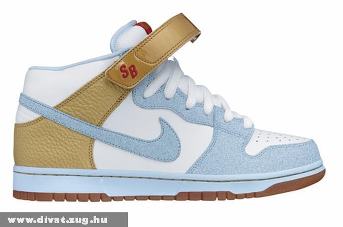 Kék-barna Nike cipõ