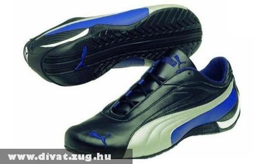 Fekete-kék Puma cipõ
