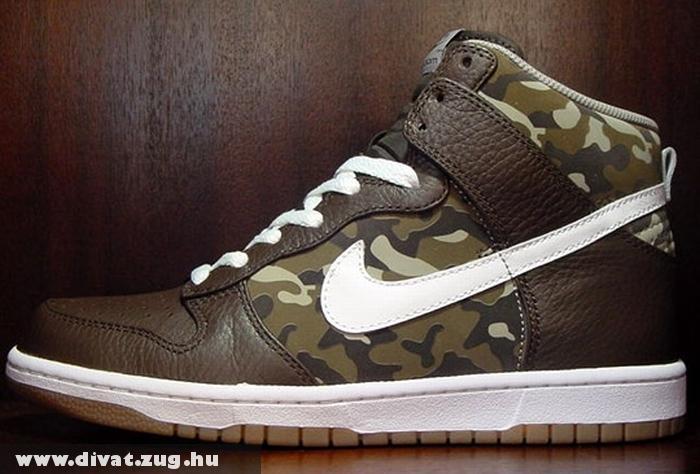 Terep mintás Nike cipõ