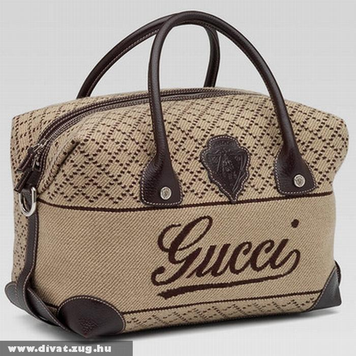 Barna Gucci táska