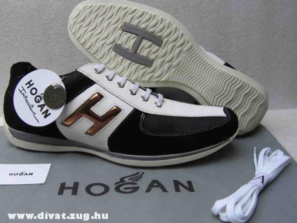 Fekete-fehér Hogan cipõ