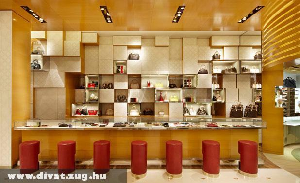 Louis Vuitton üzlet Londonban