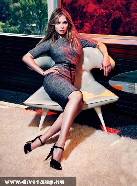 Scarlett Johansson, Mango Fashion