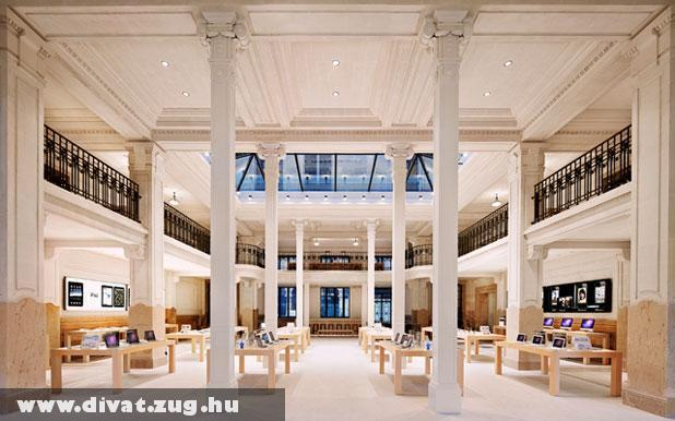 Párizs, Apple Store