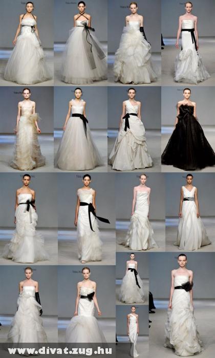 Vera Wang menyasszonyi ruha kollekciója