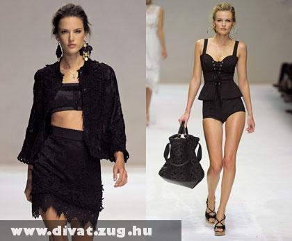 Dolce & Gabbana: Démoni fekete