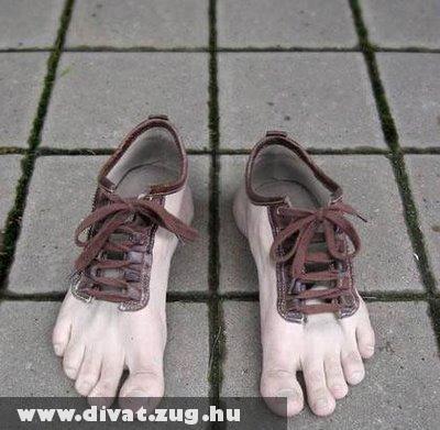 Láb cipõ