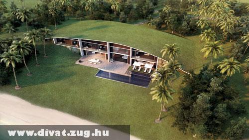 Divat a zöld ház
