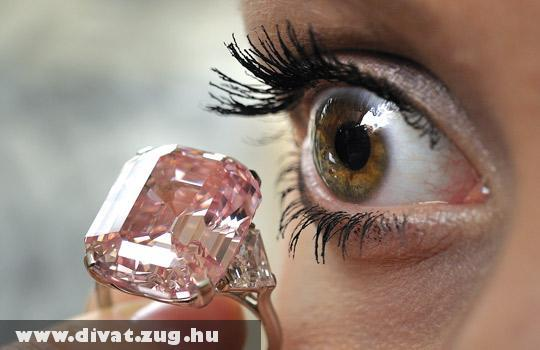Rózsaszín gyémánt