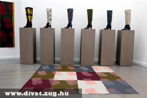 Sergio Rossi által tervezett csizmák