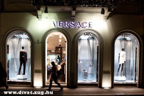 Versace Milánóban