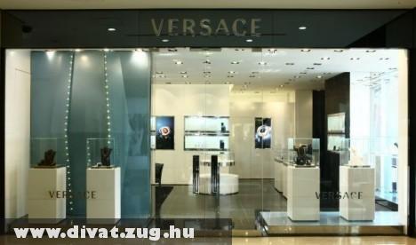Versace szalon Kínában