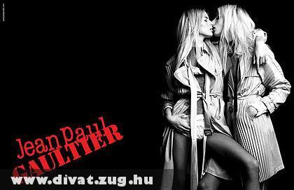 Jean Paul Gaultier kampányplakátja