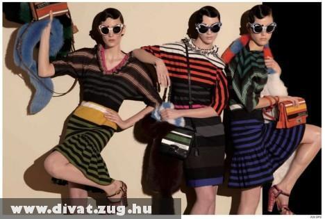 Prada és a 2011-es nyári divat