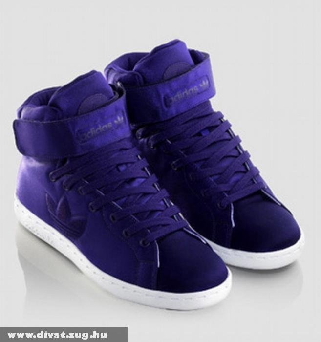 Adidas magasszárú cipõ
