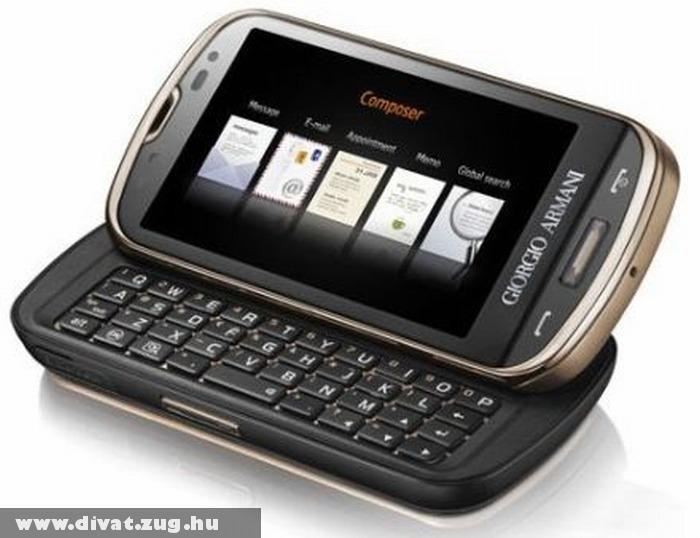 Széttolható Armani mobil