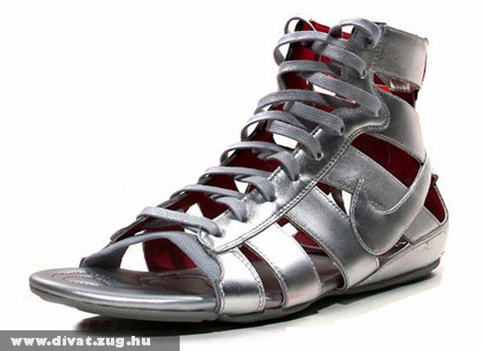 Ezüst metál Nike saru