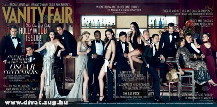 Vanity Fair Hollywood Issue címlap