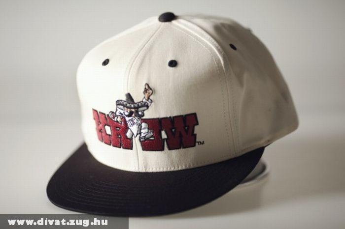 Kr3w cap fekete-fehér
