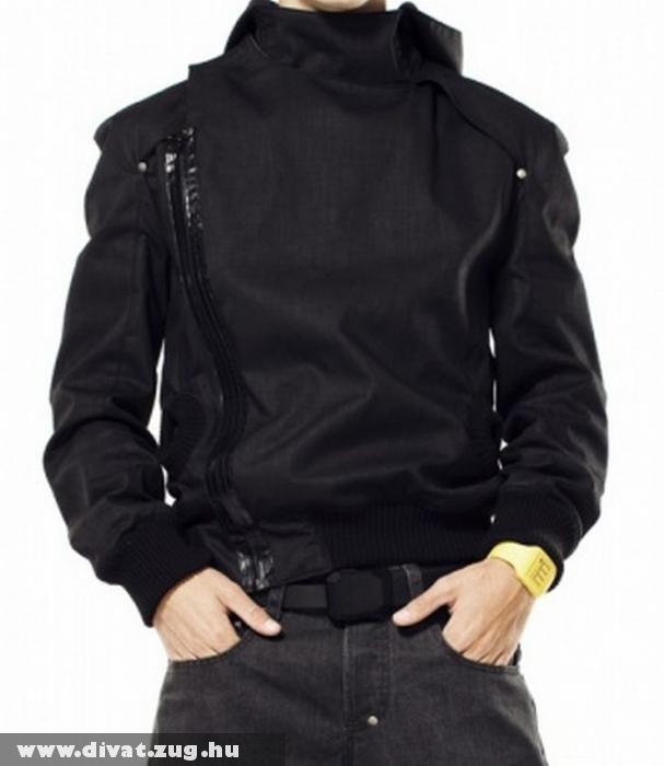 Tyra fekete kabát