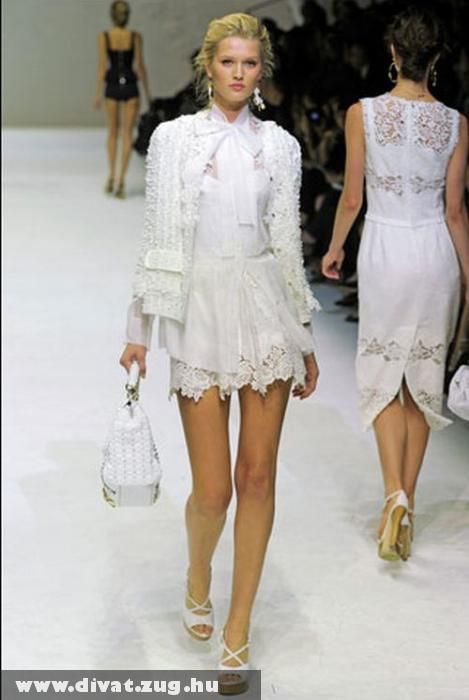 Dolce&Gabbana csipkés ruha