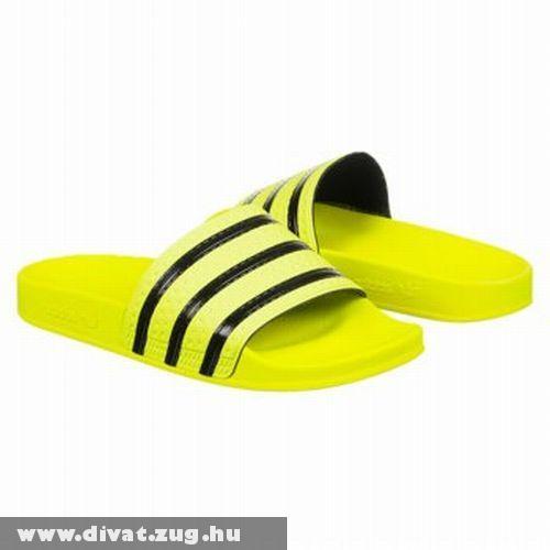 Sárga adidas papucs