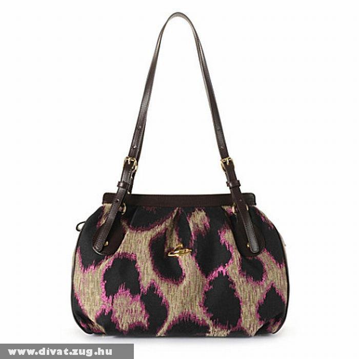 Vivienne Westwood leopárd mintás táska