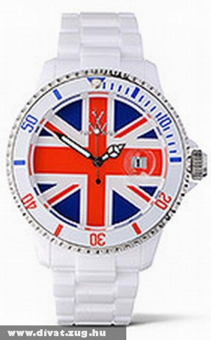 Exkluzív britt lobogós óra