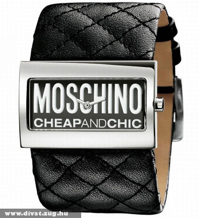 Moschino mandzsetta stílusú karóra