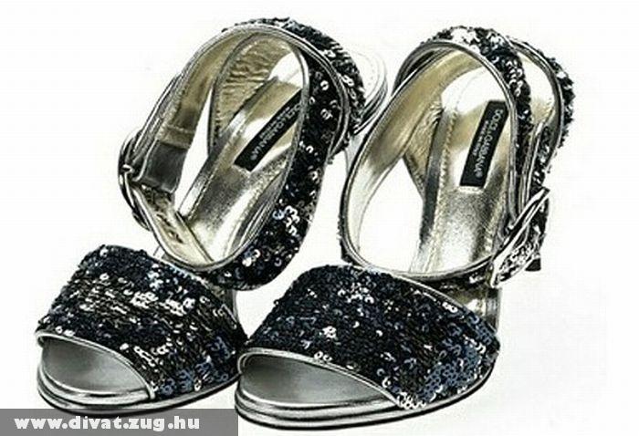 Dolce&Gabbana magassarkú nõi szandál