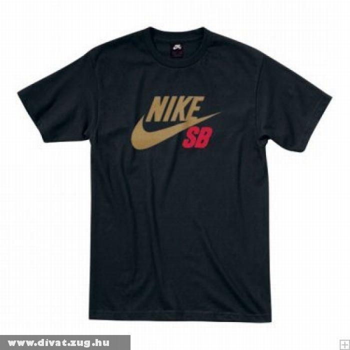 Nike SB fekete póló