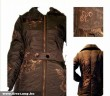 Keyo barna gombos kabát