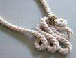 Ragasztott kötél nyakék