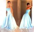 Kék báli ruha