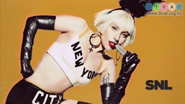 Magyar tervező fülbevalóját viselte Lady Gaga